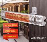 Comercial única calentador eléctrico infrarrojo halógeno calentador