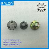 Vite capa rotonda della saldatura dello zinco dell'acciaio tre di punto della vite gialla della saldatura