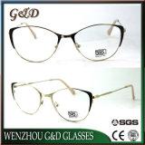 Nuevo modelo de gafas Gafas de metal de la mujer del bastidor óptica gafas