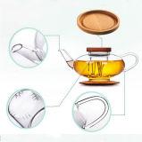 Teiera di vetro araba personalizzata di bello disegno della caldaia dell'acqua