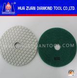 Angle Grinder를 위한 육각형 Resin Flexible Dry Polishing Pad