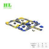 0.9mm PVC 방수포 스포츠를 위한 거대한 팽창식 물 공원