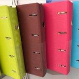 Dépliants de fichier de cahier de boucle de mousse du carton pp d'impression d'A4 O/D