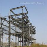 Progetto di costruzione del gruppo di lavoro della fabbrica del blocco per grafici della struttura d'acciaio
