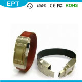 OEM Leather PU Wristband Custom USB USB Drive (TL005)