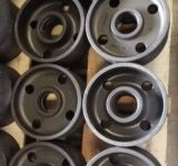 Carcaça de areia personalizada, carcaça do ferro, carcaça da roda para a maquinaria da engenharia
