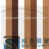 Processo de revestimento de bobinas de aço revestido de chapa metálica decorativa