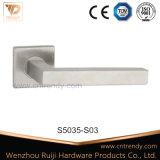 Fabricant Hollow Tube Lever Poignée de verrouillage de porte en acier inoxydable (S5035)