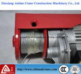 Élévateur de levage électrique de petite taille de câble métallique