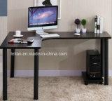 Tableau faisant le coin en bois d'ordinateur, bureau de bobinoir sur cône