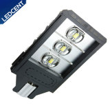 Fácil instalar 180W calentar la luz de calle blanca de la carretera LED