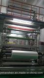 Double le rembobineur de machine le film plastique