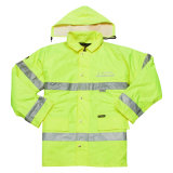 Novo Estilo de homens Hi-Vis 3m jaqueta de segurança reflexivo (UF088W)