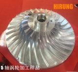 工作物の処理のためのドイツ技術(DU650)の中国の5軸線CNCのフライス盤