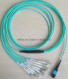 MPO-LC Tirer yeux câble à fibre optique (Fiber eye tirant)