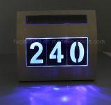 Lumière solaire nouvelle conception avec numéro de maison