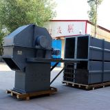 Transportador de balde de cebo de carvão de borracha vertical portátil resistente ao calor
