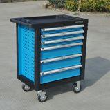 шкаф вагонетки комплектов инструментов Германии Kraft вагонетки ручного резца 245PCS установленный с комплектами автомобиля инструментов