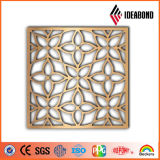 El panel perforado de aluminio hermoso de la decoración interior de la pantalla del diseño 2017 del surtidor de China