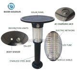 Luz de assassino Mosquito solar com Sensor de luminosidade, Sensor de chuva e sensor de altura