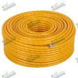 Tuyau tressé à haute pression de fibre colorée (Pw-1006)