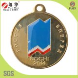 Alliage de zinc Yuehua placage argent Coin