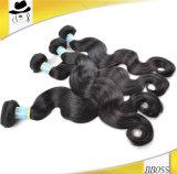 加工されていないブラジルの人間の毛髪の束