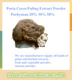Poria Cocos / Fuling Extract Powder 10: 1 20: 1 Pachyman 20% 30% 50%