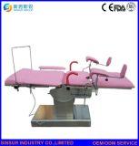 Examen de l'équipement de l'hôpital de gynécologie obstétrique chirurgie gynécologique du moteur électrique de la présidence du travail lit Chambre de livraison