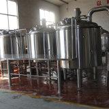 小型ビール醸造所1000L 2000L装置、Concial 60度ビール発酵槽