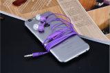 Teléfono móvil portátil auriculares con cable para iPhone/Smart Phone