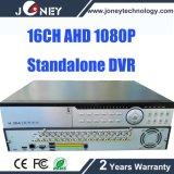 CCTV DVR 1080P H. 264 16CH Ahd DVR IP / Analog / Ahd Camera Hybrid Standalone