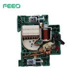 Sistema de montaje solar 16cc de un disyuntor de circuito interruptor MCB