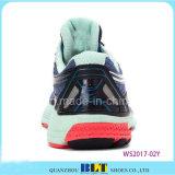 Zapatos corrientes del deporte colorido con el lazo