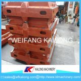 Matériel de moulage de fonderie de cadre/flacon de sable de machine de bâti de procédé de vide de qualité