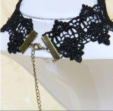 Weinlese-Tätowierung-Troddel-Punkspitze-hängende Hochzeits-Halskette