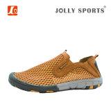 Напольные Hiking спорты вскользь Breathable ботинки для людей