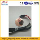 Aleación de zinc níquel negro personalizadas medallas deportivas