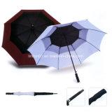 カスタム方法木のハンドルの昇進のギフトのためのまっすぐなゴルフ傘