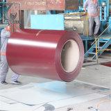 a cor da espessura de 0.5mm revestiu a bobina de aço de PPGI com a BV aprovada