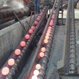 La bola de acero forjado de las minas de cobre