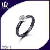 Xc013 Anillo de boda de cerámica pareja para el novio y nupcial