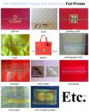 Non-Woven хозяйственные сумки приветствуя принтер фольги Xpress цифров фольги визитных карточек горячий