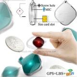 Mini inseguitore chiave personale di GPS del pendente con il tasto di SOS (A9)