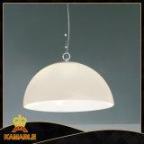 Moderne weiße Glashauptbeleuchtung. (621S2)