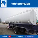 A Titan 3 eixos de liga de alumínio petroleiro combustível reboques com 45.000 litros reboque-cisterna