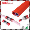Conector de Microduct Confiável, Fibra Óptica Red Clear Fitting, Air Blow Fiber