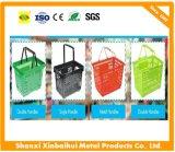 Оптовая гибкая Handheld пластичная корзина для товаров супермаркета для магазинов