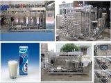 Uht industrial Pasteurizador de la leche de la lechería del uso 2500L/H