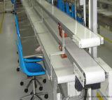 Transportador de correa la ejecución de grado alimentario para la fábrica.